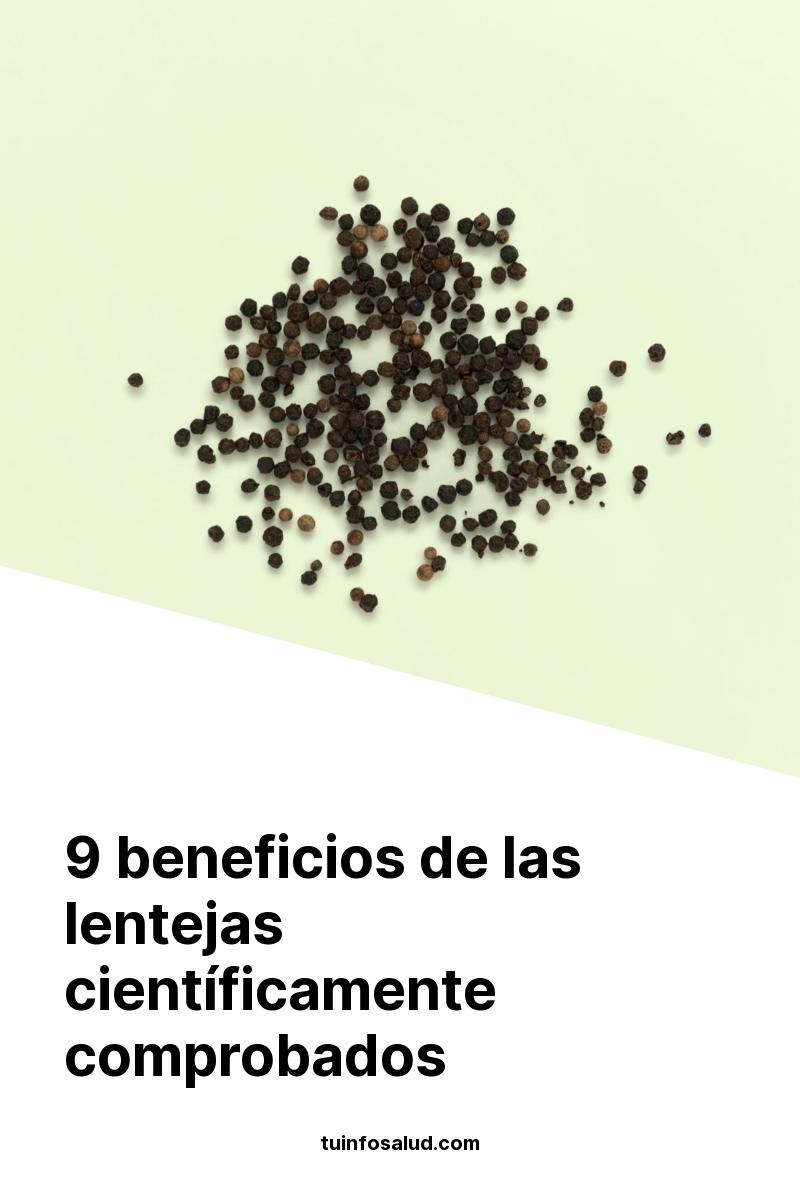9 beneficios de las lentejas científicamente comprobados
