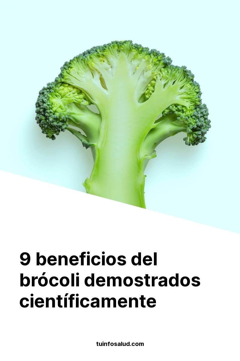 9 beneficios del brócoli demostrados científicamente