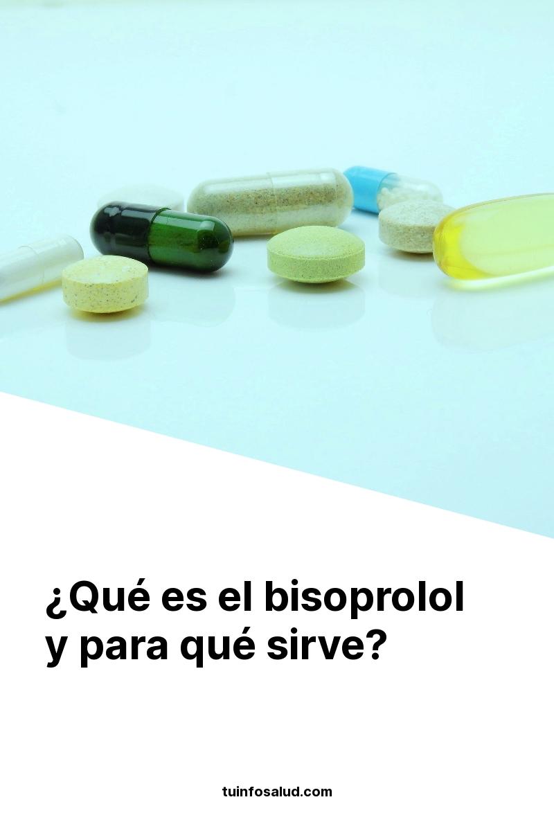 ¿Qué es el bisoprolol y para qué sirve?